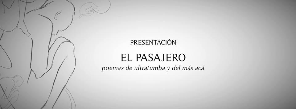 """presentacion """"el pasajero"""""""
